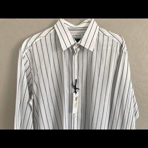 NWT Versace Dress Shirt, 100% cotton